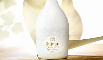 Ruinart med fremtidens champagne-innpakning