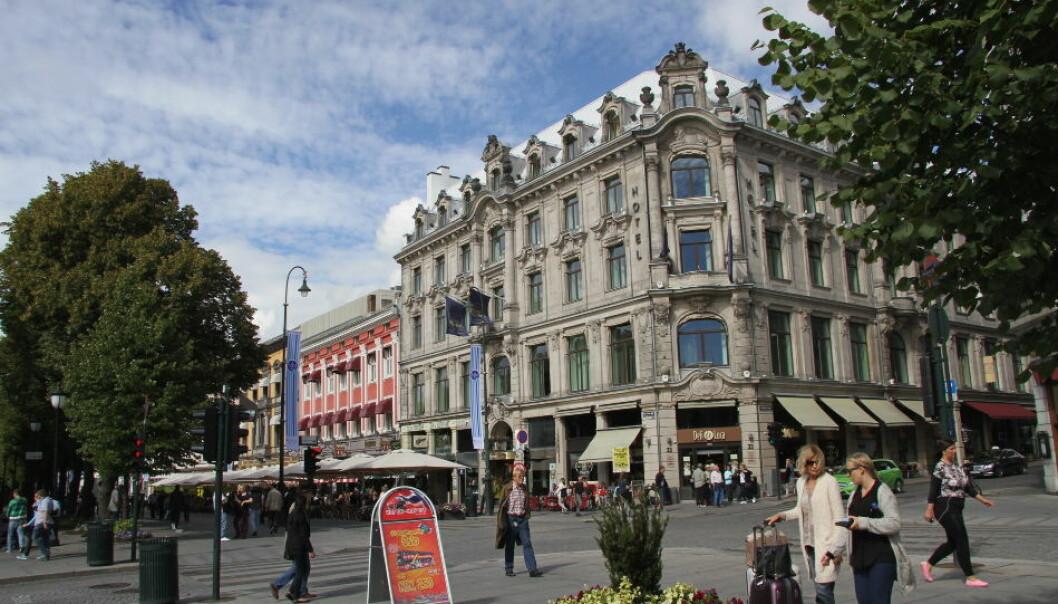 Karl Johan Hotel er totalrenovert. Dette bildet ble tatt da det ble drevet som et Best Western-hotell. (Foto: Arkiv)