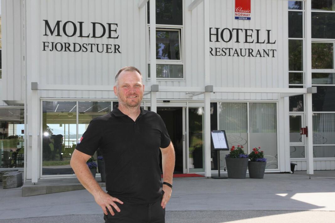 Roy Heggdal leder Hotell Molde Fjordstuer. (Foto: Morten Holt)