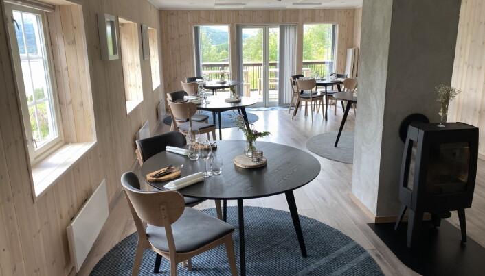 Restauranten. (Foto: Morten Holt)