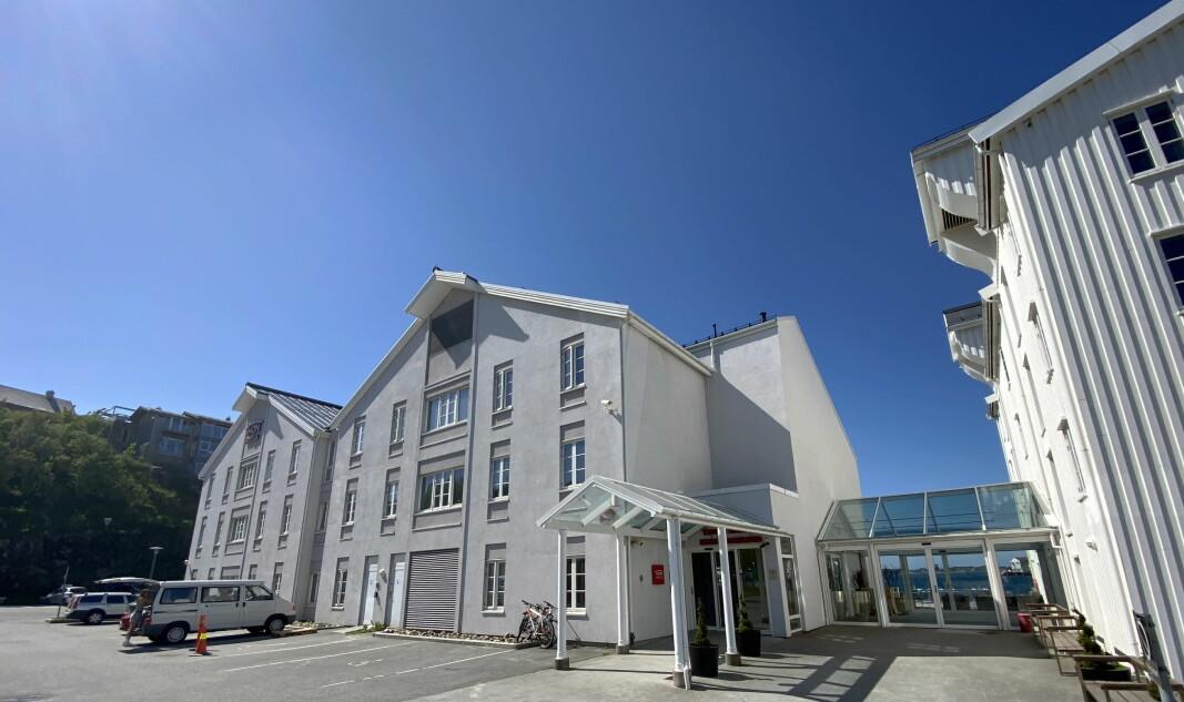 Thon Hotel Kristiansund. (Foto: Morten Holt)