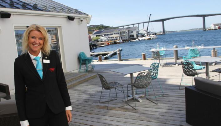 Hotelldirektør Britta Joø. (Foto: Morten Holt)