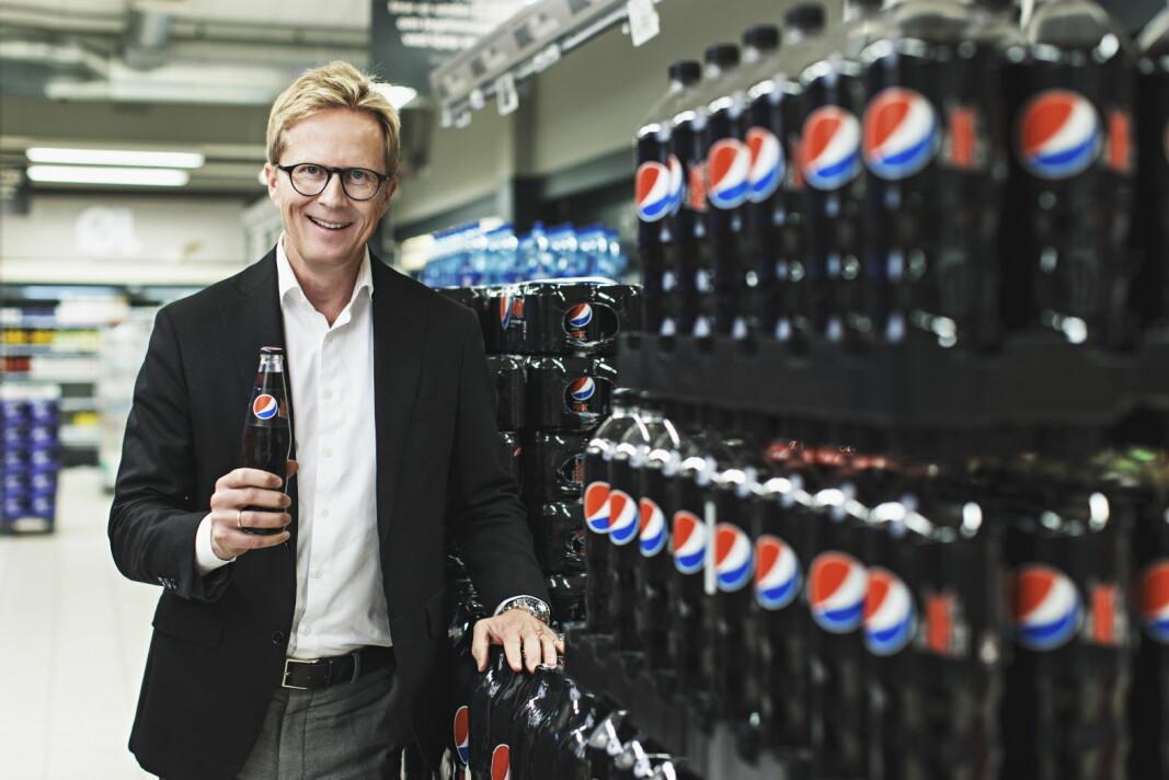Administrerende direktør for Ringnes, Anders Røed. (Foto Kilian Munch)
