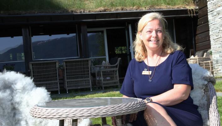Vårt slagord mot våre utenlandske og norske gjester er «A slowlife hideaway», sier hotelldirektør Benthe Langeland. (Foto: Morten Holt)