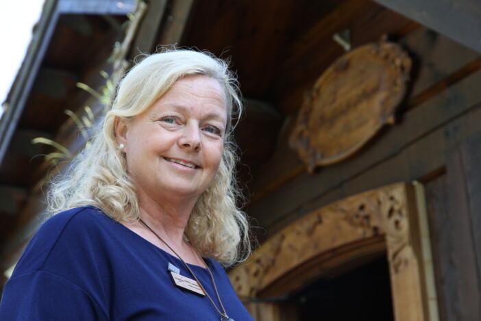 2020 har vært et utfordrende år for oss, sier hotelldirektør på Storfjord Hotel, Benthe Langeland. (Foto: Morten Holt)