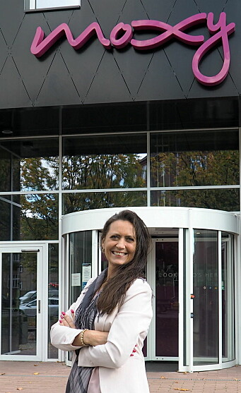 Moxy Bergen blir det tredje Moxy-hotellet i Skandinavia når det åpnes i mars 2021. Monica Selvik skal lede hotellet. (Foto: Moxy Bergen)