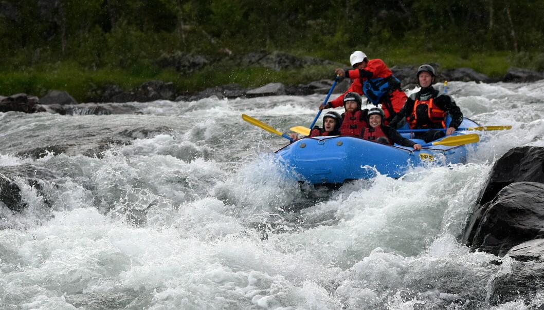 Reiselivsfagskolestudentene har fått teste en rekke av attraksjonene i Geilo-regionen. (Foto: Norsk Reiselivsfagskole)