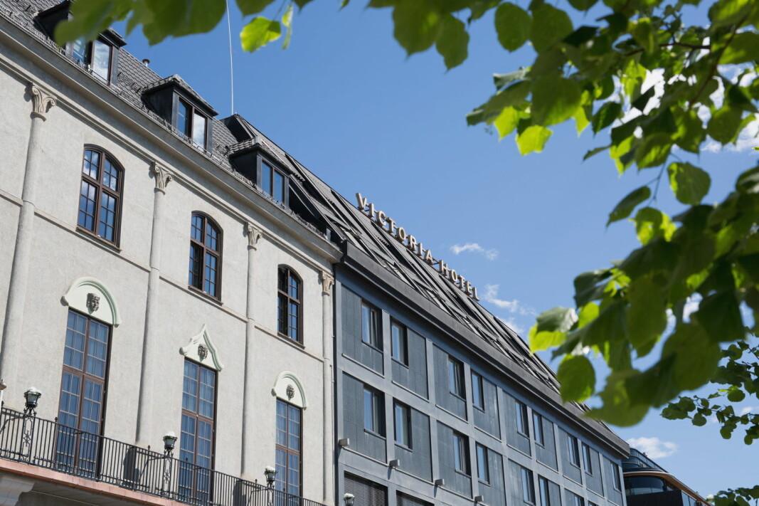 Det nye franchisehotellet i Thon Hotels, Victoria Hotel Hamar, ligger i Strandgaten 21 og er Hamars eldste hotell. (Foto: Victoria Hotel Hamar)
