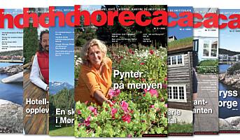 52. årgang med magasinet Horeca