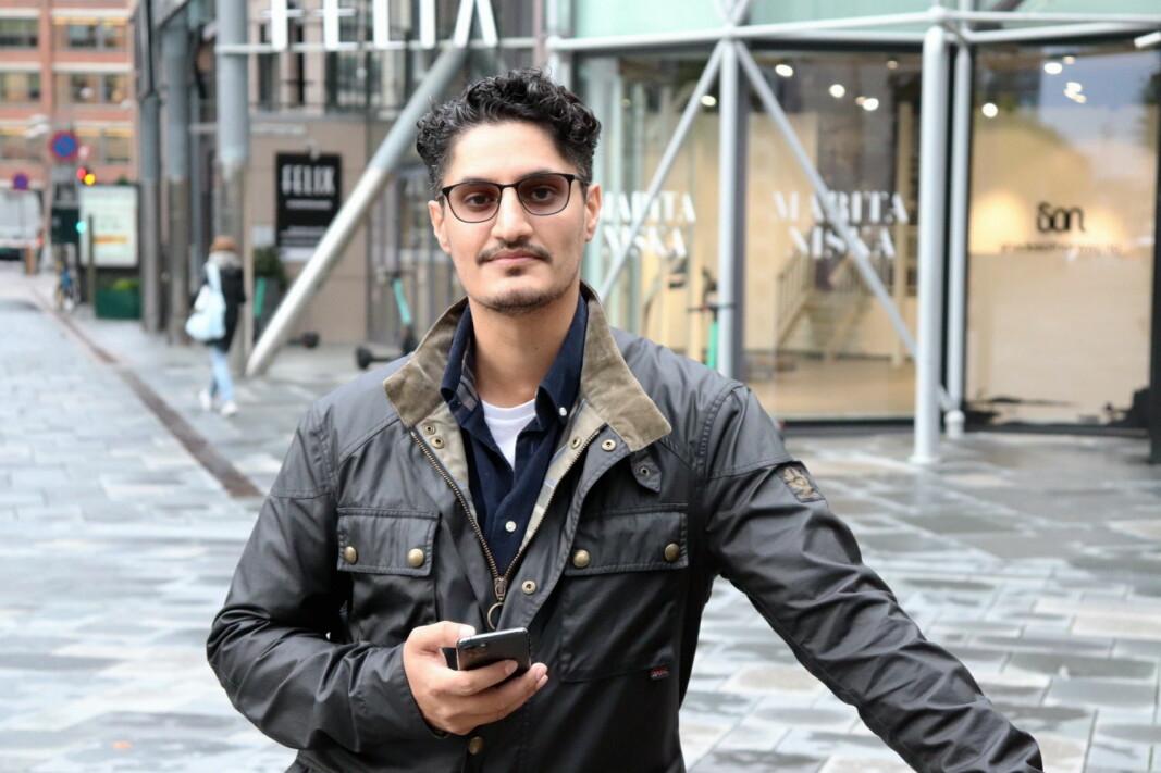 Sheraz Baloch har utviklet Umamiguide, som er en søkemotor for restauranter. (Foto: Umamiguide)