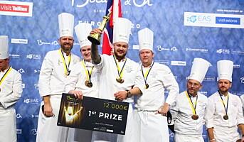Gull til Norge i Bocuse d'Or Europe 2020