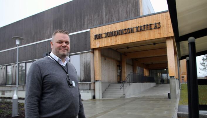 Markedsdirektør i Joh Johannson Kaffe, Ted Allergoth. (Foto: Morten Holt)