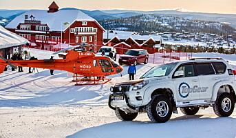 «Top Gear» med fartsfylt action fra Beitostølen
