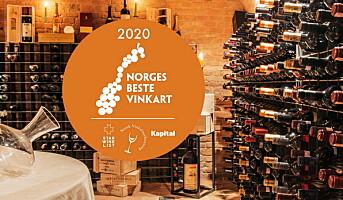 Norges beste vinkart, dette er de nominerte