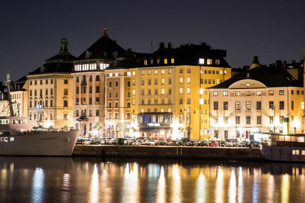 Hotel Reisen i Stockholm.