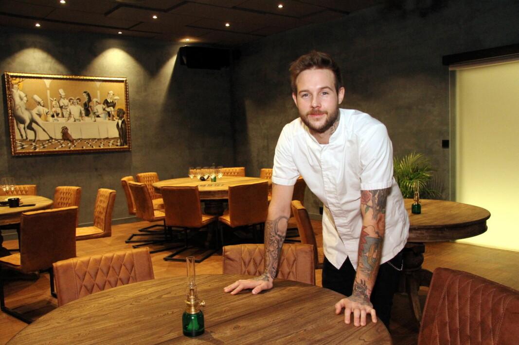Jimmy Øien er nominert til kokkeprisen, og restaurant Rest er nominert i kategorien årets kjøkken. (Foto: Morten Holt)