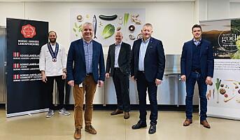 Bama Storkjøkken signerte ny avtale med NKL