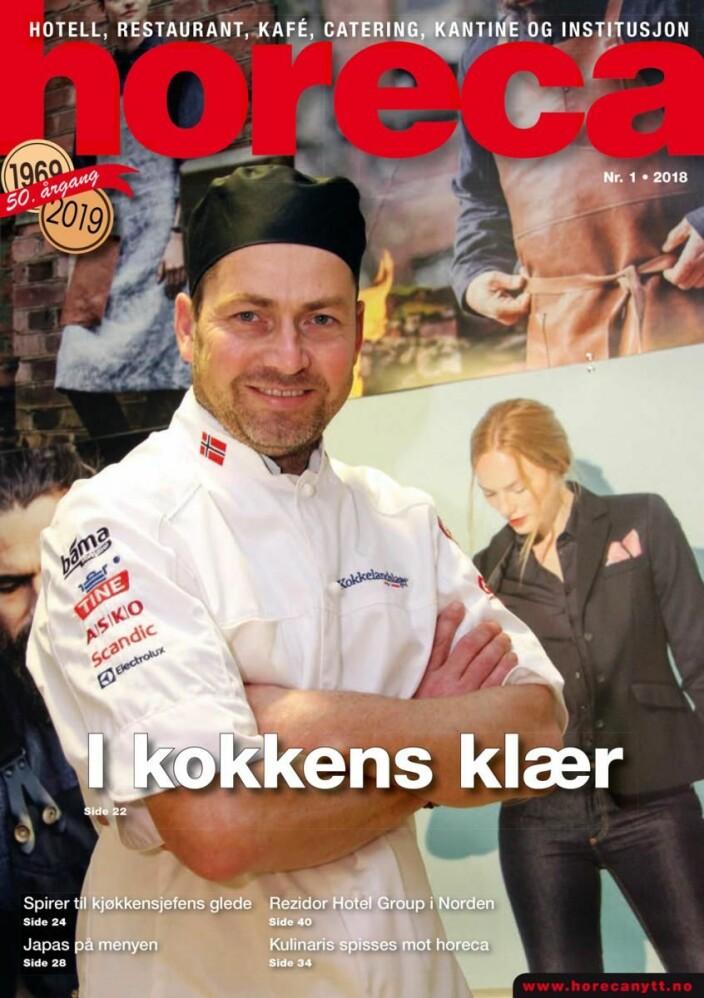Omslaget på den første utgaven i 2018. (Foto: Morten Holt/layout: Tove Sissel Larsgård)