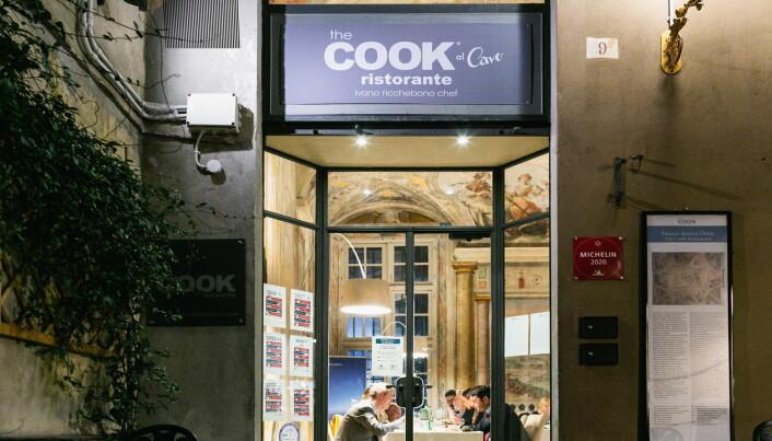 Michelin-restauranten The Cook i hjertet av Genova serverer norsk tørrfisk med italiensk vri. (Foto: Giulia la Monica)