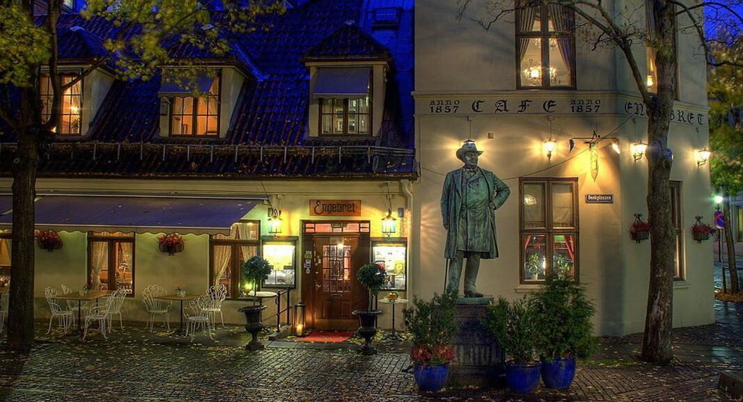 Oslos eldste restaurant lanserer sin egen akevitt. (Foto Engebret Café)