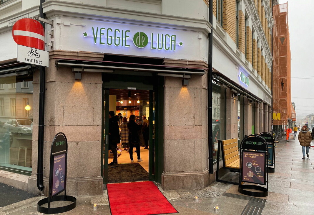 Her åpnes landets første «Veggie de Luca». (Foto: Deli de Luca)