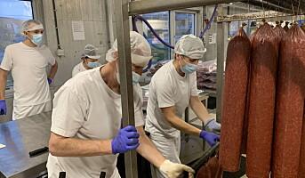 Smittevern og dugnad reddet produksjonen hos Grilstad