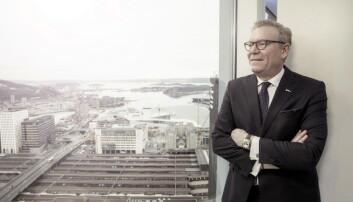 Hotelldirektør Tarje Hellebust. (Foto: Rickard L. Eriksson)