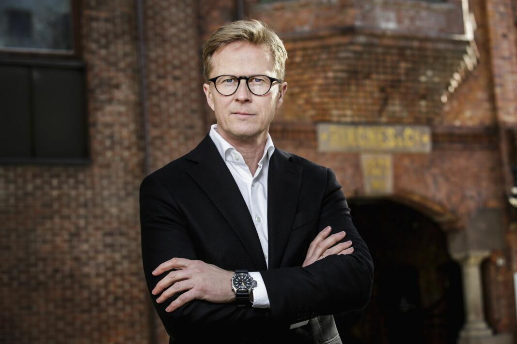 Anders Røed, administrerende direktør Ringnes AS. (Foto: Nyebilder.no)