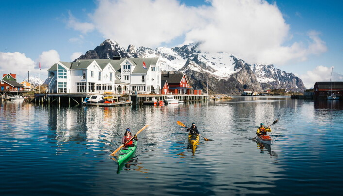 Nå kan også utelivet i Nord-Norge da del i Hansa Borgs produkter. (Foto: Jelle Dobma)
