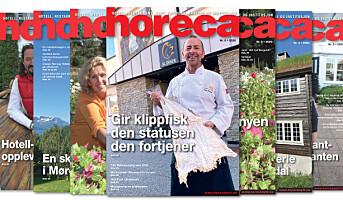 Årets siste Horeca-magasin på vei til abonnentene