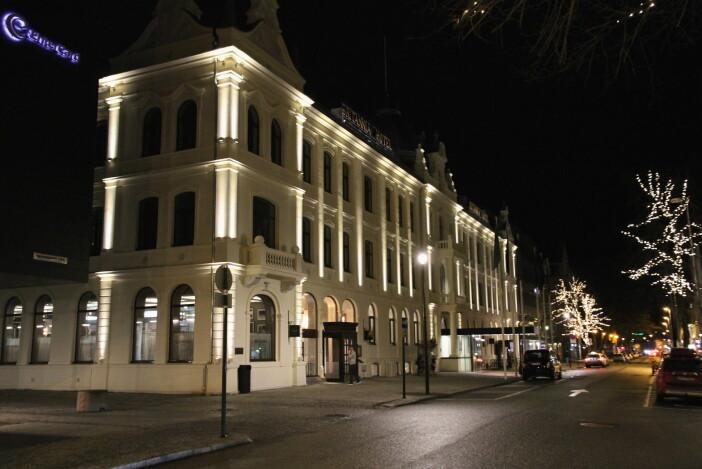 Britannia Hotel ble første gang åpnet i 1870. Våren 2019 ble hotellet gjenåpnet etter en omfattende renoveringsprosess. (Foto: Morten Holt)