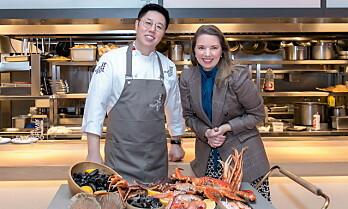 Norske skalldyr på menyen i Kina
