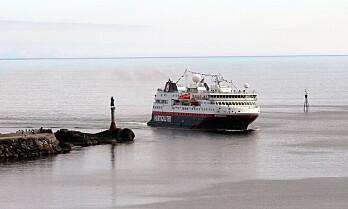 Hurtigruten rendyrker norskekysten