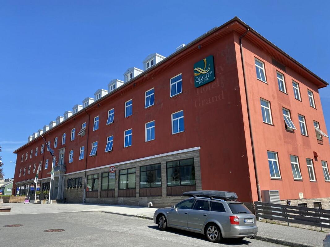 Quality Hotel Grand i Kristiansund er ett av hotellene du kan levere gaver på. (Foto: Morten Holt)