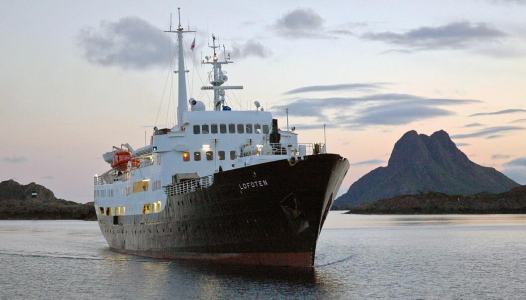 MS Lofoten blir skoleskip. (Foto: Trond Gansmoe Johnsen/Hurtigruten)