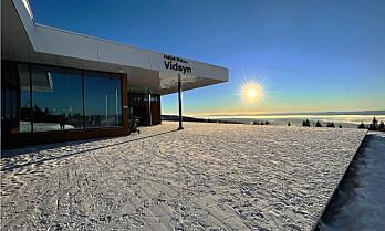 Suksess med Hafjells nye utsiktsrestaurant