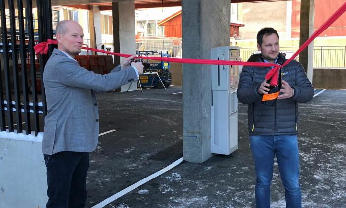 """Snoren er klippet for """"nye"""" Scandic Victoria Lillehammer. (Foto: Scandic Hotels)"""