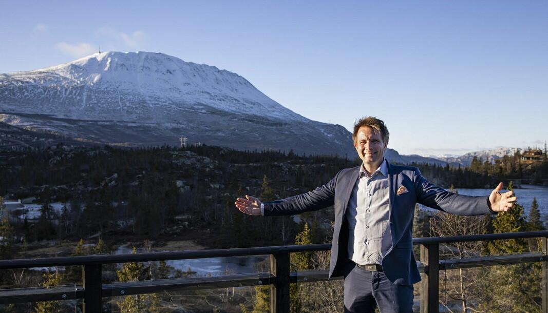 John Kristian Stubban er ny hotelldirektør på Gaustablikk Høyfjellshotell. (Foto: Gaustablikk Høyfjellshotell)