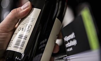 Flere kjøper vinflasker som kan pantes