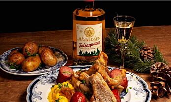 Håvaldsen Juleaquavit til pinnekjøtt, ribbe og lutefisk