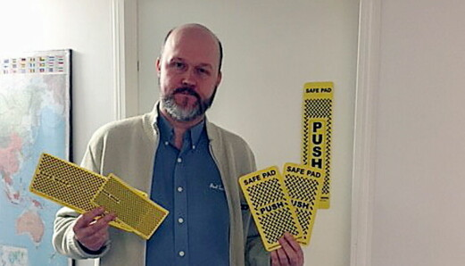 «Safe Pads» – nytt produkt til smittevern