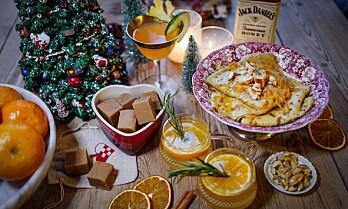 Honninglikør i vinterens drinker, desserter og godteri