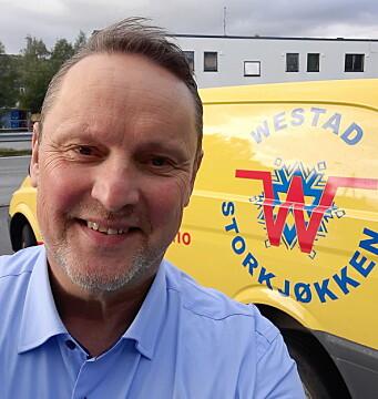 Geir Olsen er selger hos Westad Storkjøkken.(Foto: Westad Storkjøkken)