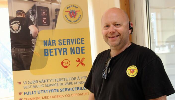 Per Bjørnar Westad er optimist med tanke på 2021. (Foto: Morten Holt)