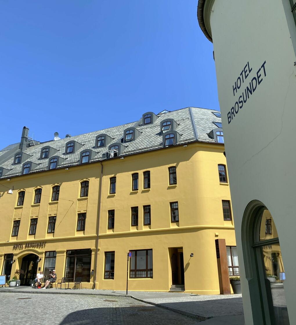 Hotel Brosundet. (Foto: Morten Holt)
