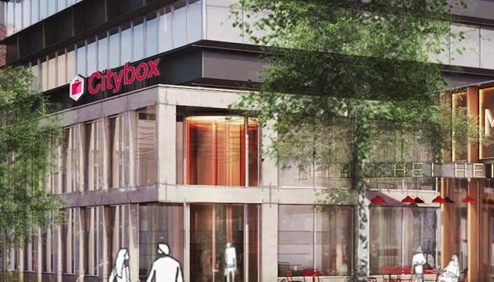 Citybox er et lavpriskonsept. (Illustrasjon: Citybox Tromsø)
