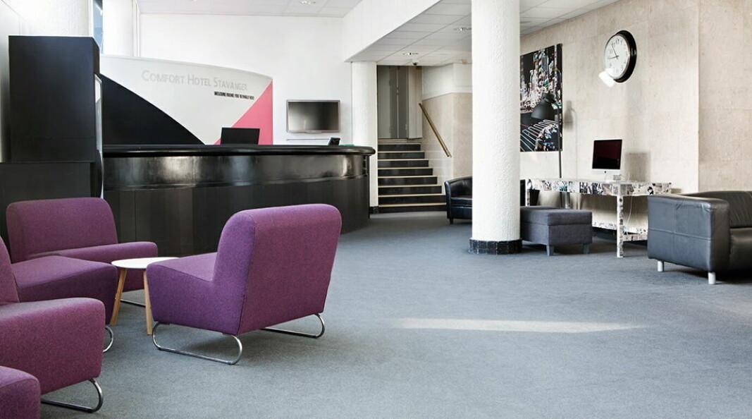 Comfort Hotel Stavanger. (Foto: Nordic Choice Hotels)