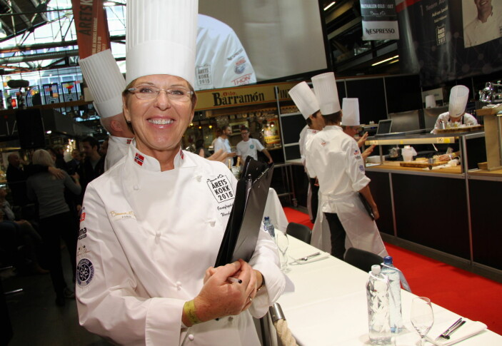 Wenche Andersen har vært fast kokk for God morgen Norge siden starten. (Foto: Morten Holt, arkiv)