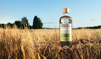 Vodka laget på regenerativt dyrket bygg