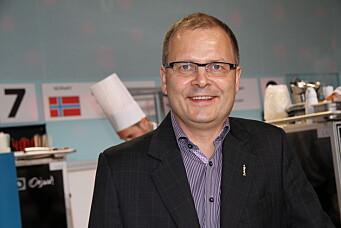 Arne Sørvig. (Foto: Morten Holt)